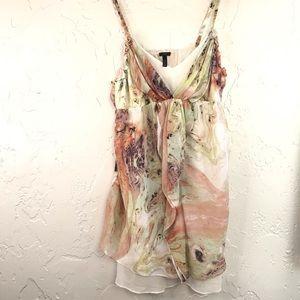 Soma Soft Layer Wave Print Night Cami Dress